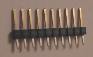 Verwendete 10er Stiftleiste